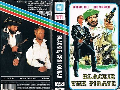 Blackie The Pirate (1971) Terence Hill & Bud Spencer - Yugoslavian Vhs