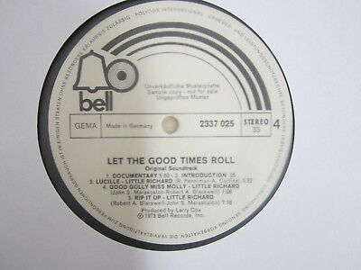 LP- Let The Good Times Roll-Little Ric  / MUSTERPLATTE / ARCHIV / MINT / RAR /