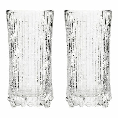NEW Set of 2 Small Iittala Ultima Thule Wine Glasses