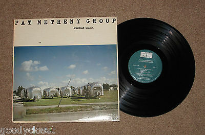 Jazz Pat Metheny Group American Garage Lp Excellent **