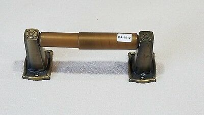 Z-1010 Vintage Amerock Carriage House Toilet Paper Holder Antique Brass Finish