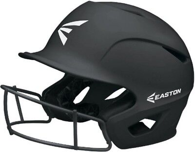 Easton Girls Fastpitch Softball Batting Helmet Prowess Grip Youth M/L Black