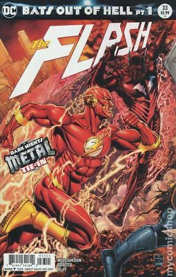 """Flash 33 """"Bats out of Hell Pt 1"""" Darks Nights Metal Tie-In 1st Print  DC 2017 NM"""