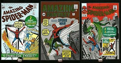 MARVEL Mexico AMAZING FANTASY #15 1ST APPEARANCE OF SPIDER-MAN FOIL Reprint