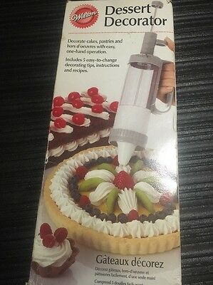 *NEW* WILTON DESSERT DECORATOR 415-825! NIB Cake Design Writing Tool Message