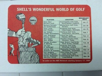 1965 Shell Oil Wonderful World Of Golf Sam Snead