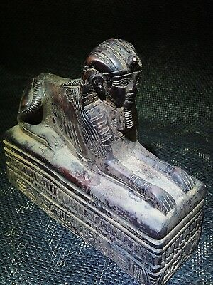 ANCIENT EGYPT EGYPTIAN ANTIQUE Sphinx of Amenhotep III Sculpture 1390–1352 BC
