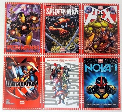 MARVEL NOW 2014 CUTTING EDGE COVERS Trading Card Set of 30 upperdeck 101 - 130