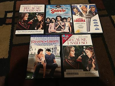 Lot Of 5 Mandy Moore Movies, Dvds