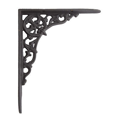 Signature Hardware Arrow Scrollwork Cast Iron Shelf Bracket