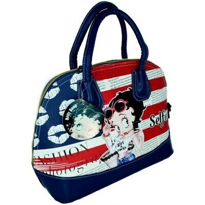 * CLEARANCE Betty Boop Small Black Clasp Purse Ladies Women/'s Girls