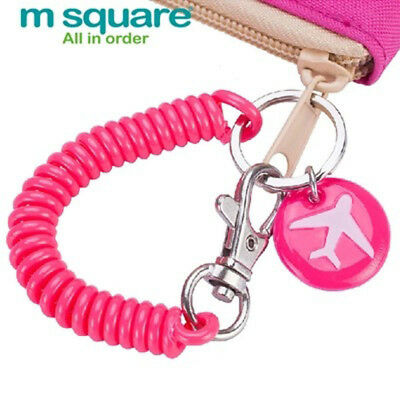 M Square Travel Elastic Rope Security Gear Tool Anti-lost Phone Keychain For Bag