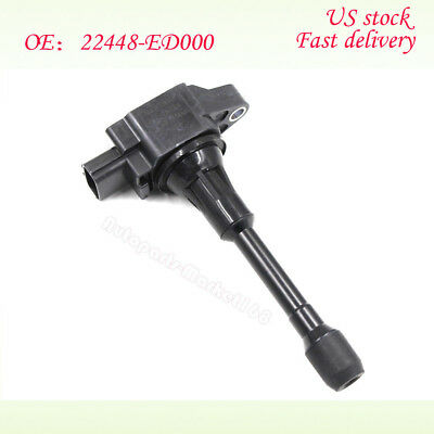 22448-ED000 Ignition Coil Fit Nissan Altima Sentra Cube Rogue Versa 22448-JA00C