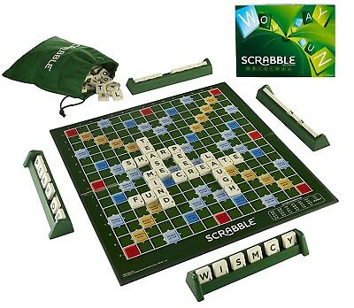 Scrabble Board Game Family Letter Classic Gift Word Puzzle  Adults Kids Party
