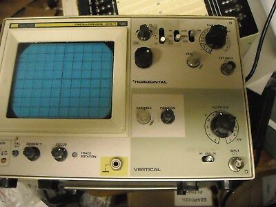 SOLTEC Oscilloscope 515-1 15 used for parts or repair