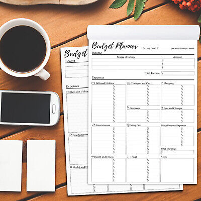Printable Weekly, Fortnightly, Monthly Budget Planner Digital Download