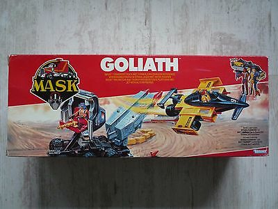 M.A.S.K - GOLIATH  TRAKKER & RUSHMORE  Originalverpackt + Inlay RAR Mask Kenner