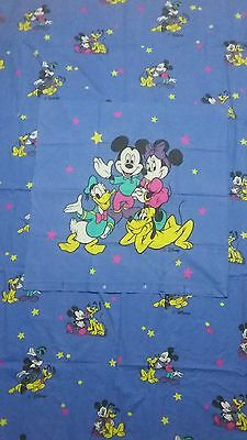 disney bettw sche bedding bedlinen donald duck vintage 70s. Black Bedroom Furniture Sets. Home Design Ideas