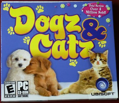 Video Game PC Dogz & Catz 2006 PETZ NEW SEALED Jewel