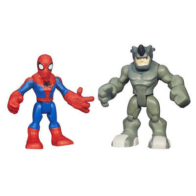 Playskool Heroes Marvel Spider-Man & Rhino Figure