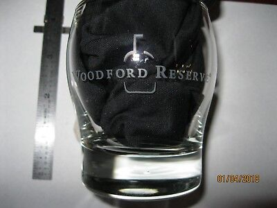 NEW Rare Style Woodford Reserve Kentucky Straight Bourbon Whiskey Glass