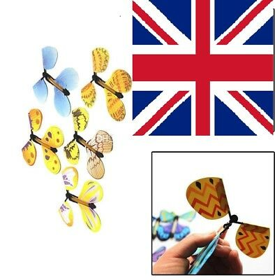 15Pcs Magic Flying Butterfly Prank Toy Party Xmas