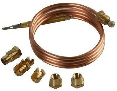 Universal Thermocouple 1500Mm Long With Threaded End Free Uk Carriage
