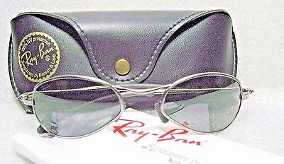 """Ray-Ban USA *NOS Vintage B&L ORBS """"Prophecy"""" W2577 Oval Wrap G15 *NEW Sunglasses"""
