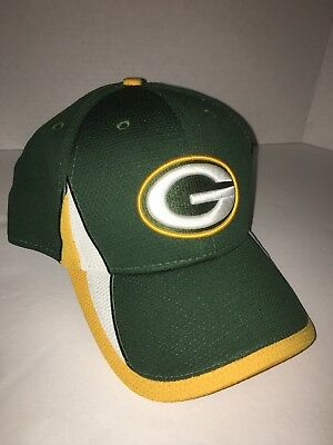 d473001988ac58 New Era Green Bay Packers Green Cap Hat Team Training 39THIRTY Flex fit  Large-XL