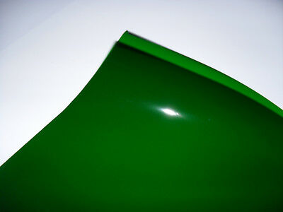 139 PRIMARY GREEN Heat Proof COLOURED Transparent Acetate Sheet Crafts Lighting
