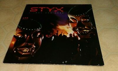 STYX Kilroy Was Here vintage vinyl record album LP Mr Roboto Heavy Metal Poison