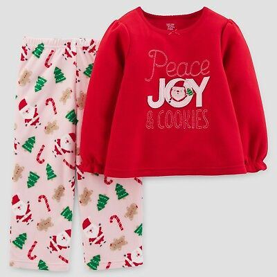 18 month 2 piece Carters Just One you Xmas Santa outfit Fleece xmas