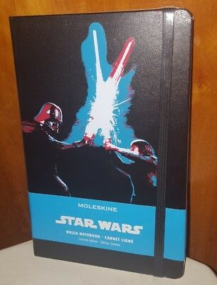 Moleskine Star Wars Limited Edition Large Ruled Notebook, 5 X 8 1/4""