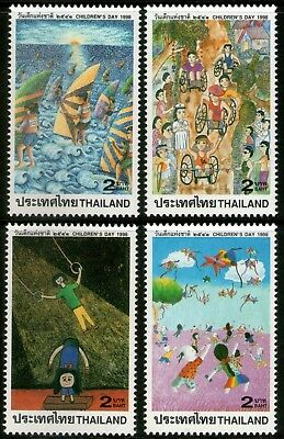 Thailand 1998 National Children's Day set of 4 Mint Unhinged