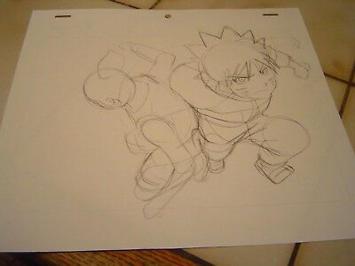 NARUTO Anime Production Cel Sketch Genga Japan