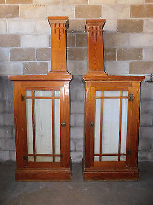 Antique Craftsman Style Parlor Colonnade - C. 1910 Fir Architectural Salvage