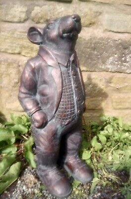 Ratty Mouse Tales Of The Riverbank Garden Ornament