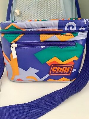 Retro Vintage Insulated Cooler Bag 80s 90s Lunchbox
