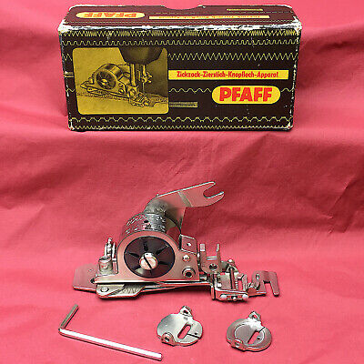 PFAFF WORKER High Shank Zig-Zag Attachment Foot ZigZagger Vintage Germany Made