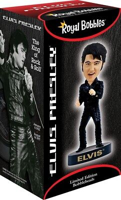 Statuette 20cm ELVIS PRESLEY '68 COMEBACK Bobble Head ROYAL BOBBLES Figures NEW