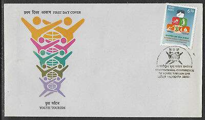 INDIA 1991 YOUTH TOURISM Conference GOLF SAILING 1v Official FIRST DAY COVER