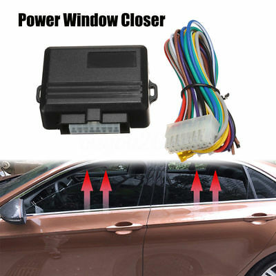 Auto Power Window Roll Up Closer Power Module Kit 4 Door Car Universal 12V NEW
