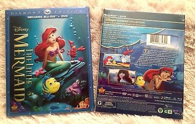 THE LITTLE MERMAID Blu-ray + DVD 2013, 2-Disc Diamond Edition Disney