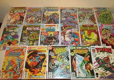 Marvel and DC Early 1980's Unsold Store Stock (Lot of 51) 1980-84, Ave. 6.0-9.0