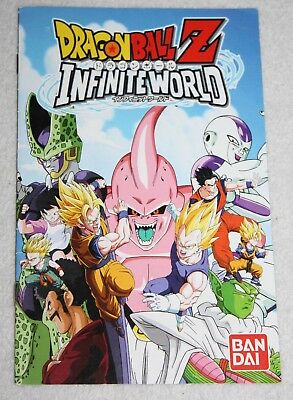 ++ notice mode d'emploi sony playstation 2 ps2 dragon ball Z infinite world ++