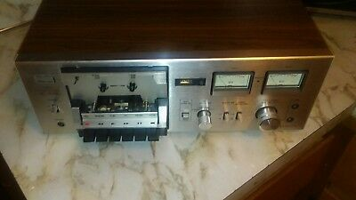 VINTAGE SANSUI stereo CASSETTE DECK PLAYER MODEL SC-1100