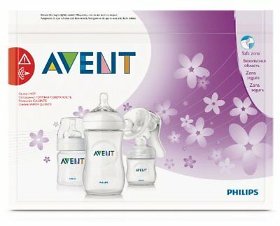 Philips AVENT Microwave Steriliser Bags x5 Baby Bottle Cleaning (Reusable)