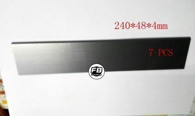 7 pcs Carbon Vanes (Blades) replace For Becker DVT 2.140 / 3.140 240*48*4mm