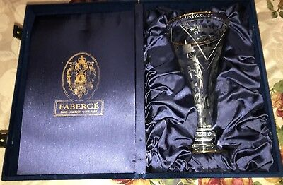 Faberge Vase Paris London and New York in a blue box absolutely Beautiful!!!!