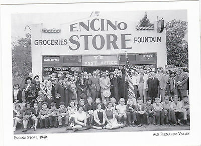 "*Postcard-The Encino Store""...near Encino Park- @ San Fernando Valley  (#45)"